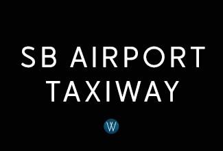 Santa Barbara Airport Taxiway